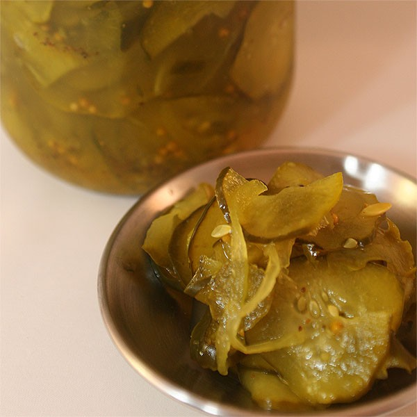 Fermented Bread & Butter Pickles