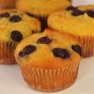 Gluten Free Muffins : Blueberry  (1/2 DOZ)